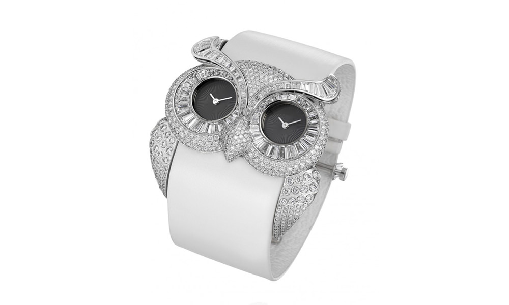 Diamond-Owl-Watch