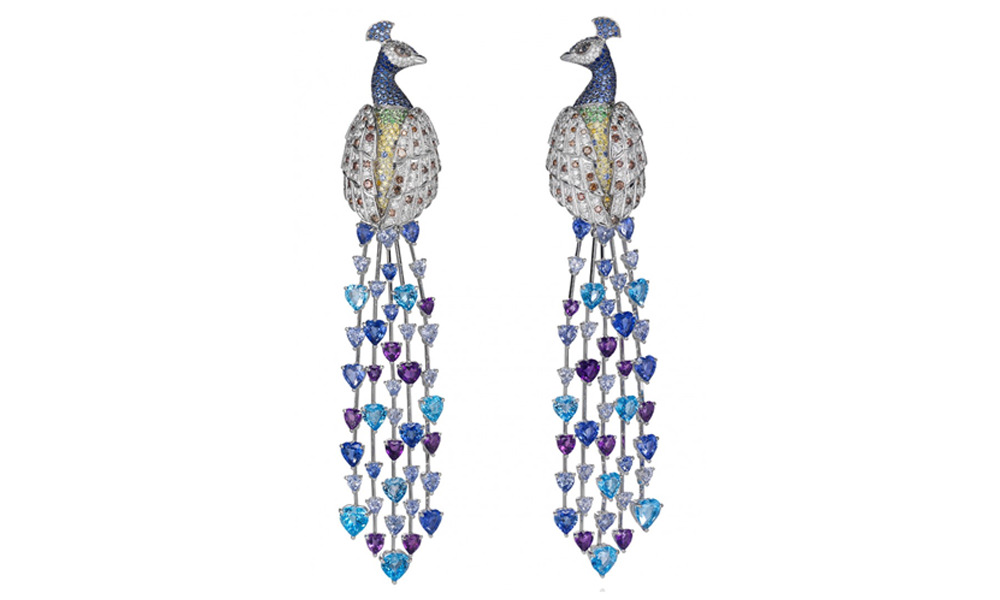 Peacock-Earrings