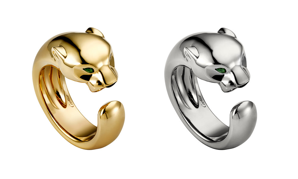 Panthere-Ring-White-Gold,-Yellow-Gold