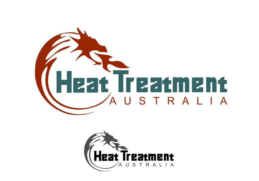 heat treatment logo design