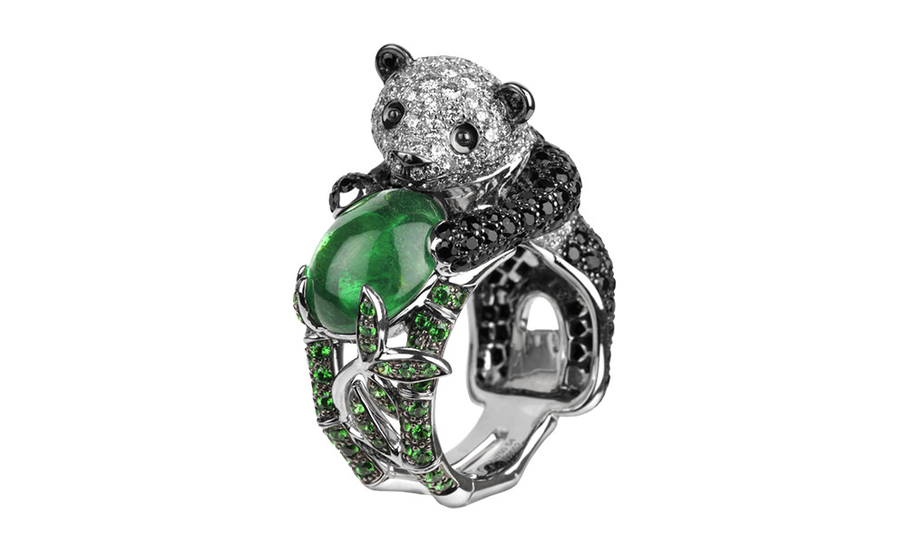 Panda-Ring-Emeralds
