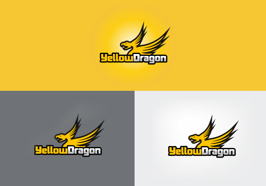 yellowdragon logo design