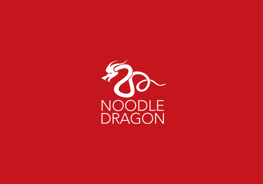 Noodle Dragon Logo Design