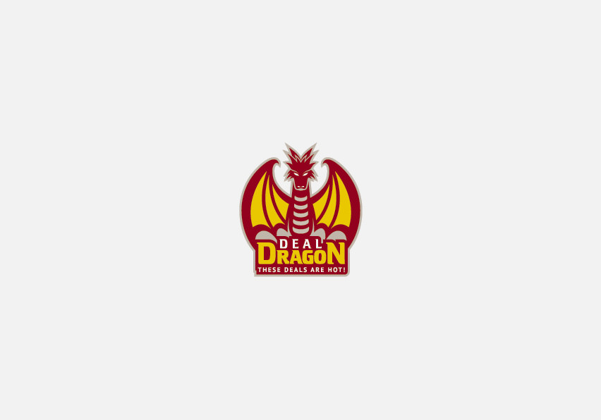 Deal Dragon Logo Deisgn