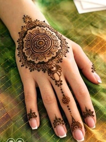 Fashion Mehandi Designs