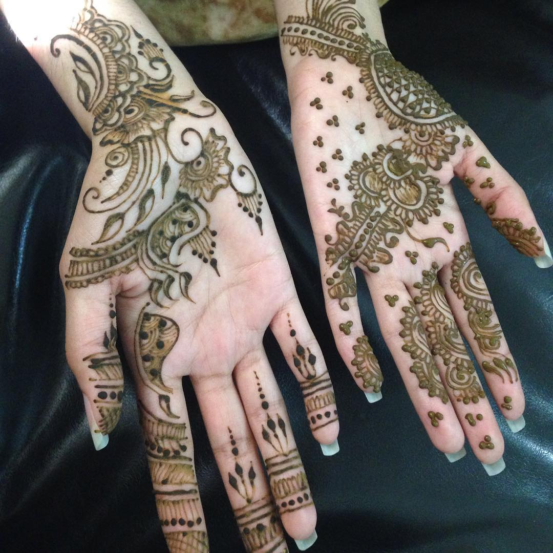Inspired Mehandi Designs