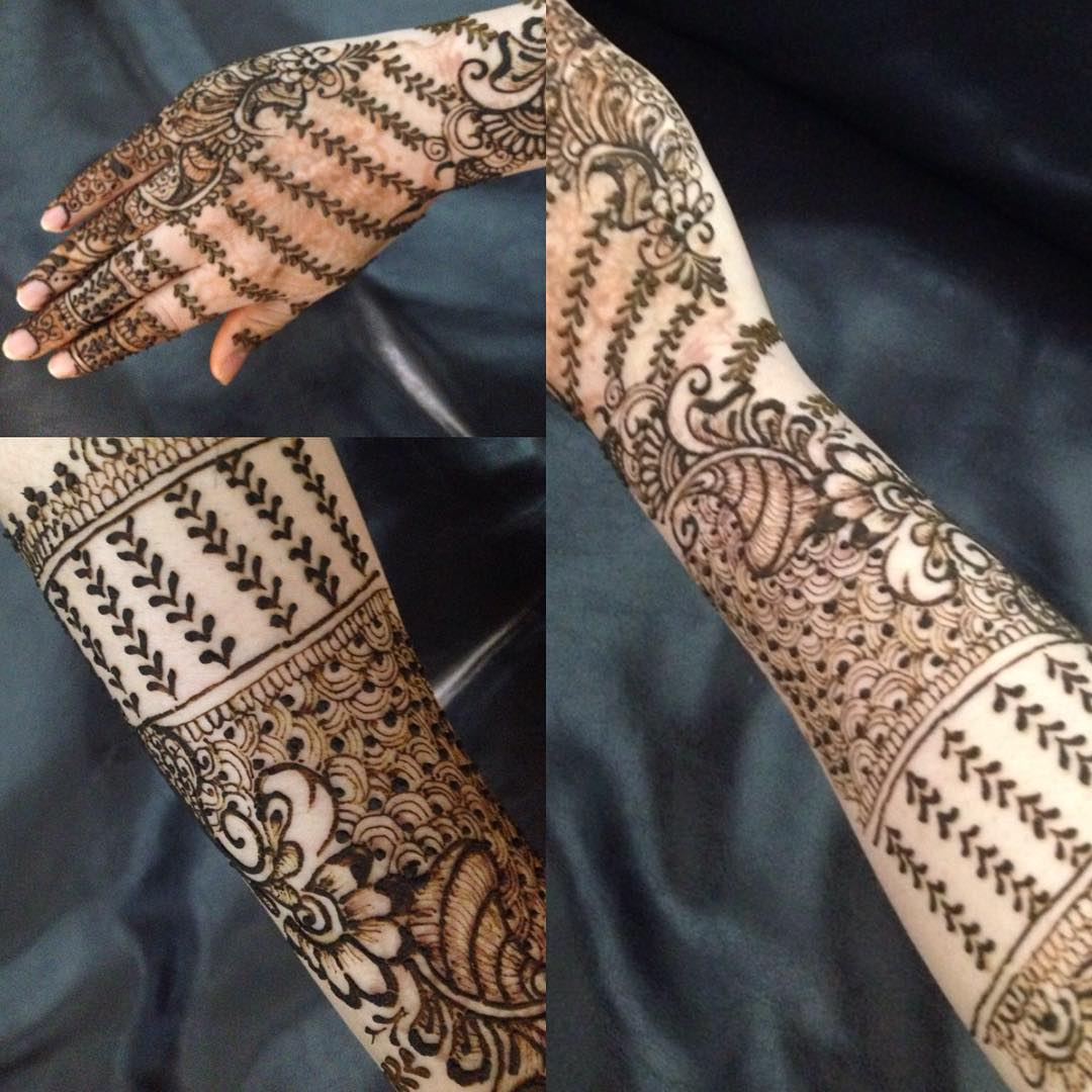 Inspired Art Mehandi Designs