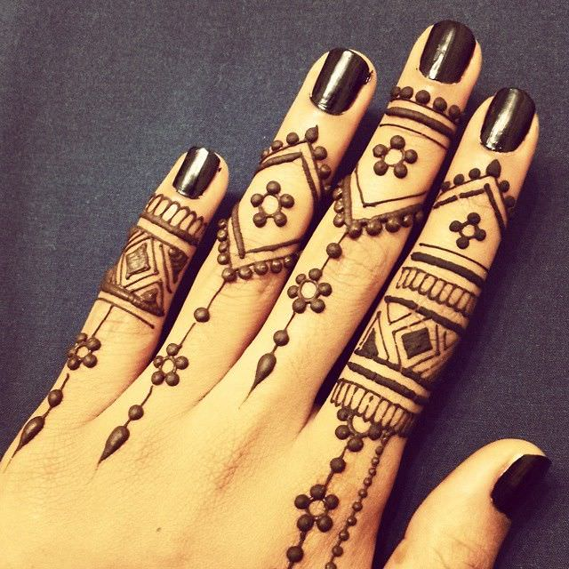 Pretty Mehandi Designs