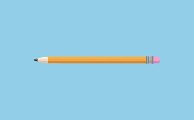 Simple Pencil Vector