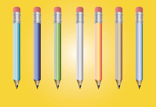 Cool Pencil Vector