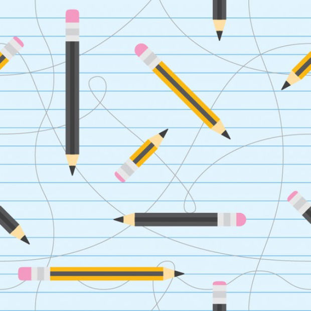 pencils seamless vector
