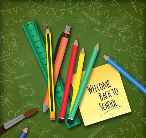 Back to School Pencil Vector