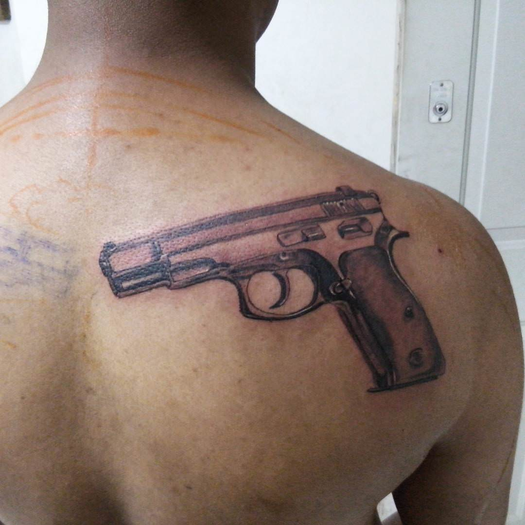 El Gun Tattoo Designs
