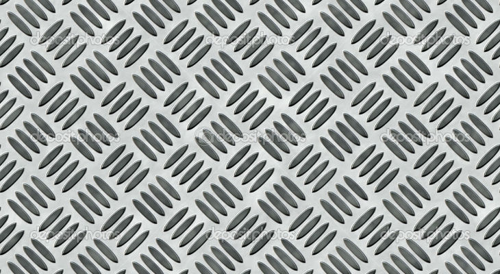 Diamond Plate Steel Texture