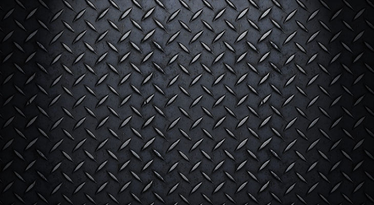 Studded Black Steel Texture