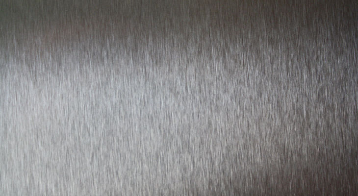 Grey Stainless Steel Texture