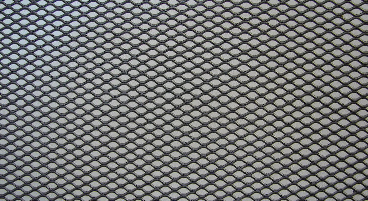 Closed Grid Steel Texture