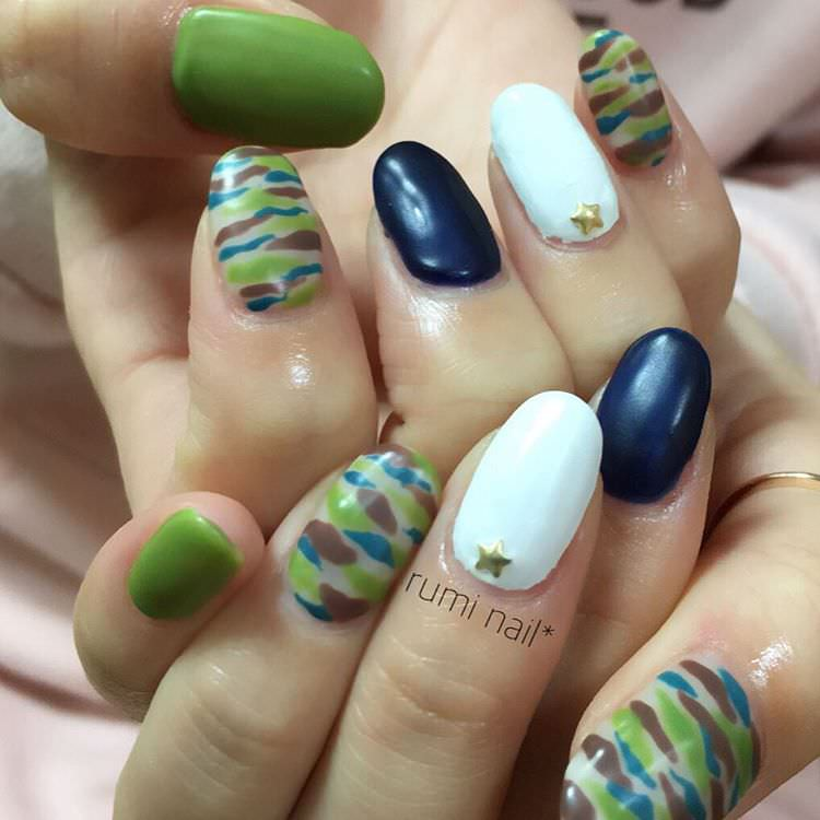 Rumi Summer Nail Design