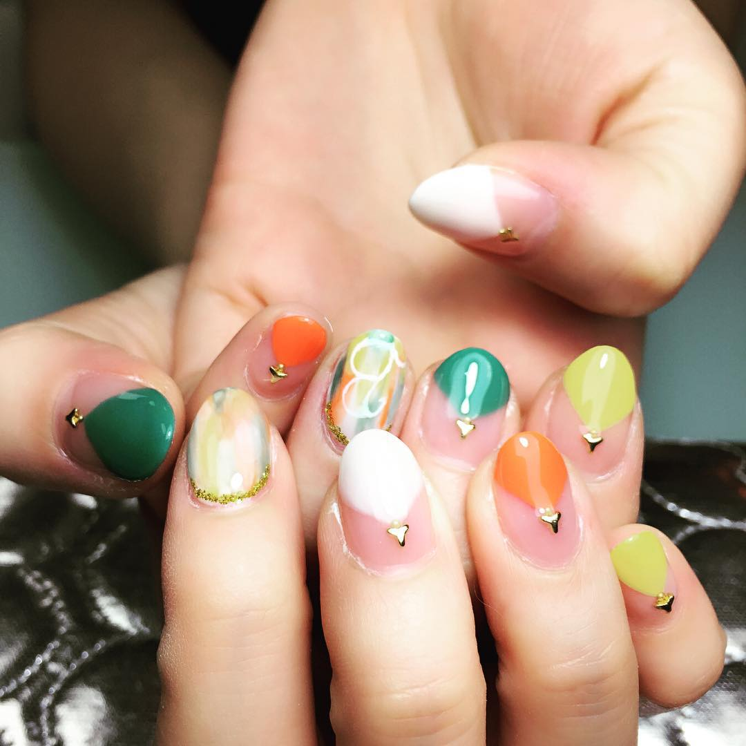 ColourFul Summer Nail Design