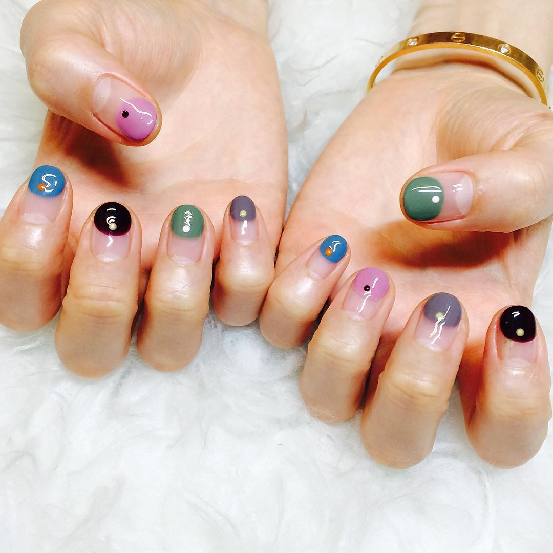 Pop Summer Nail Design