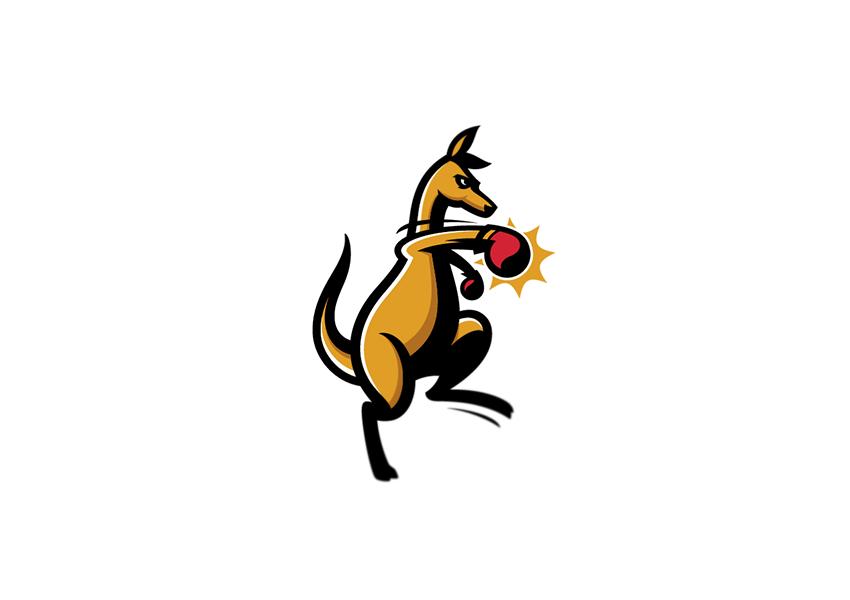 kangaroo logo designs17