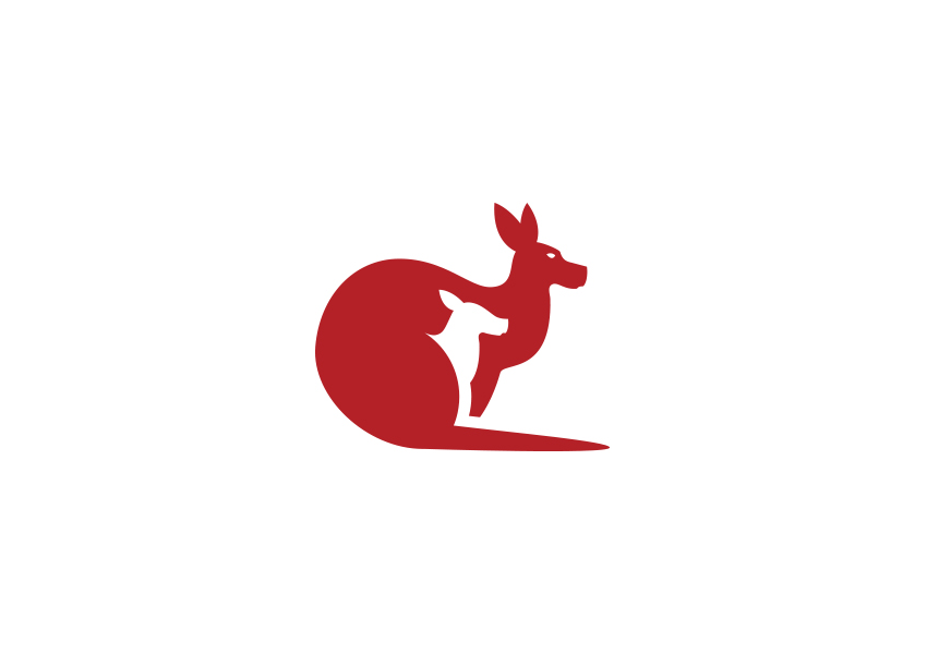kangaroo logo designs19
