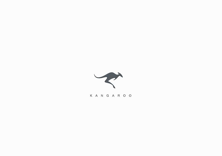 kangaroo logo designs34