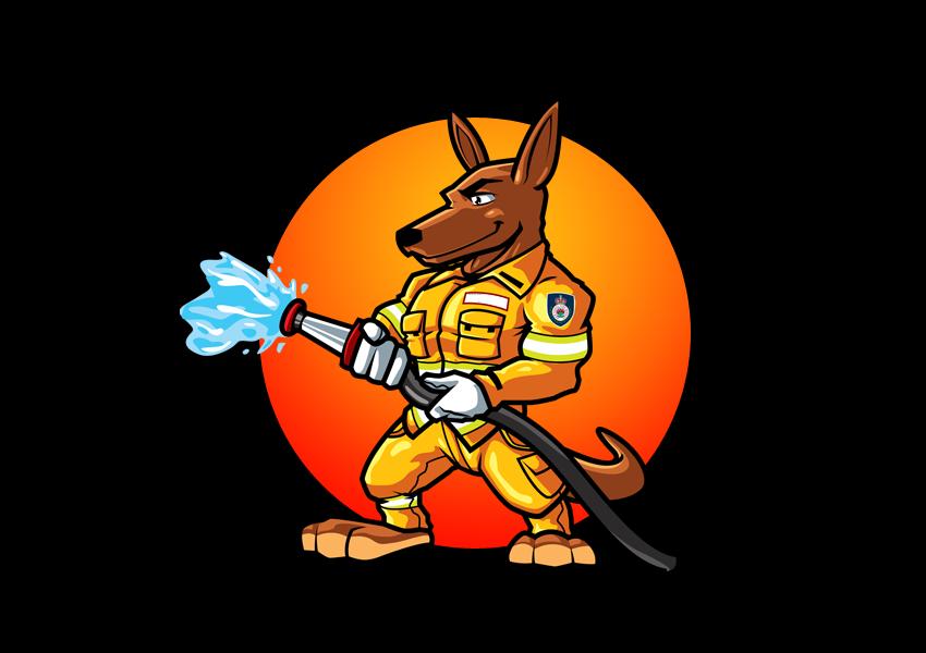 kangaroo logo designs36