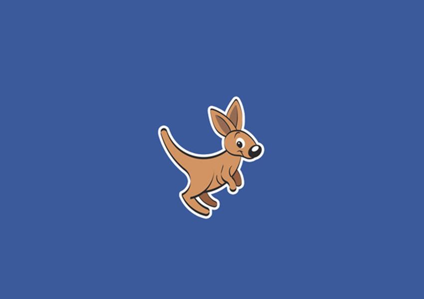 kangaroo logo designs43