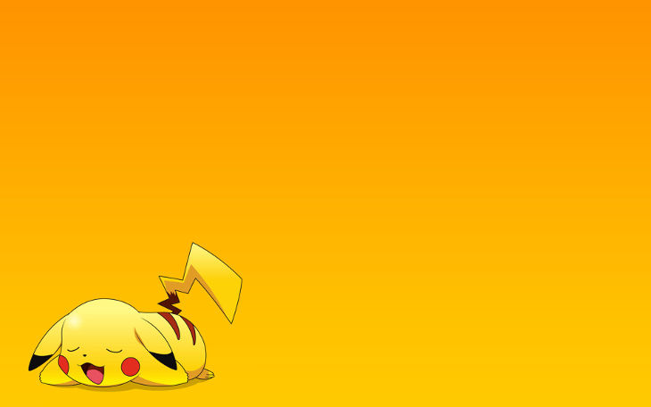 Cute Pikachu Desktop hd Wallpaper