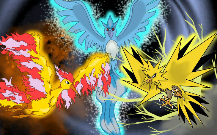 Legendary Pokemon hd Wallpaper