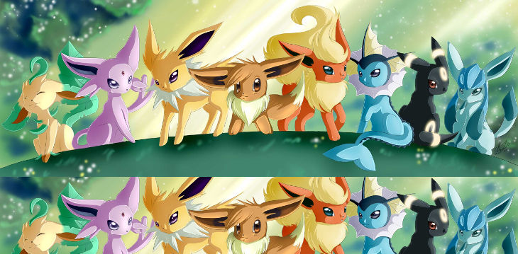 Flareon Family Pokemon Wallpaper