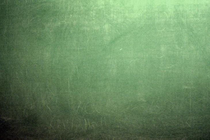Pale Green Chalkboard Texture