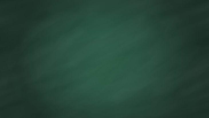 Green Wide Chalkboard Texture