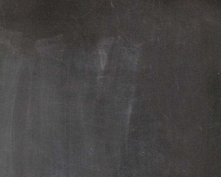 Plain Black Chalkboard Texture