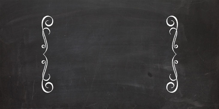 Designed Chalkboard Texture