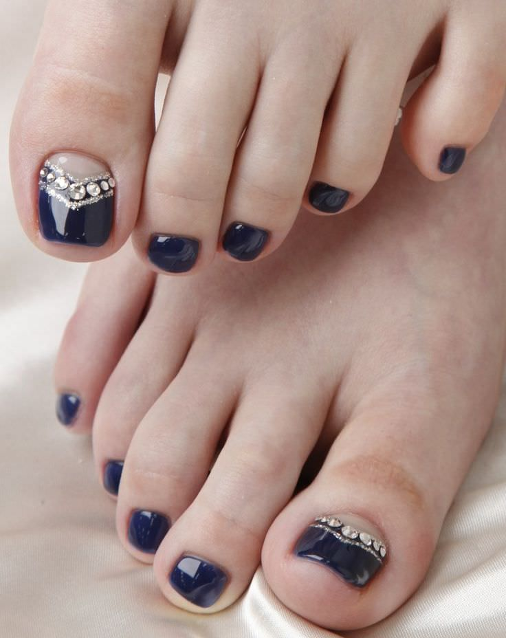 Art Toe Nail Design