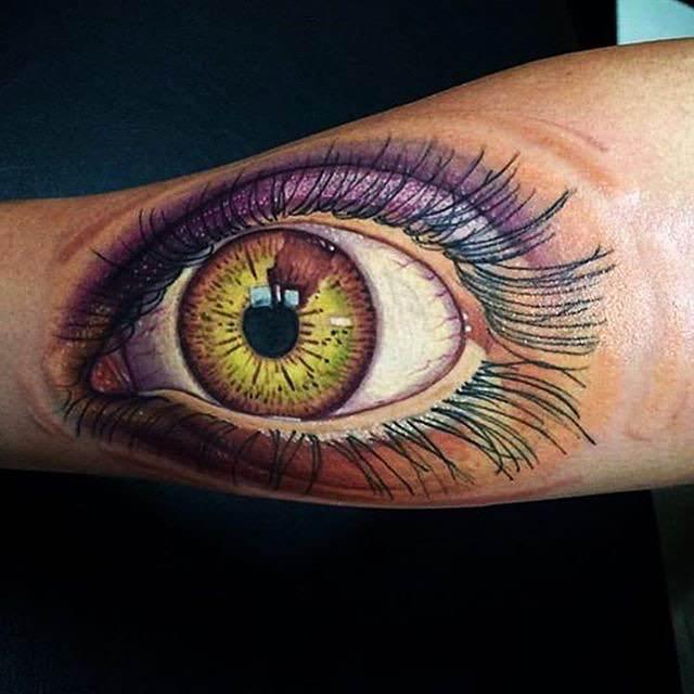 Amazing Eye Tattoo Design