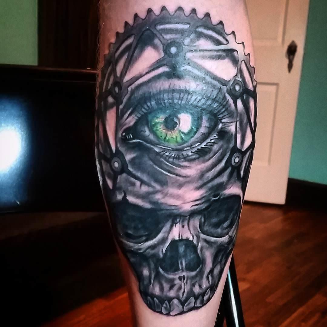 shout Eye Tattoo Design