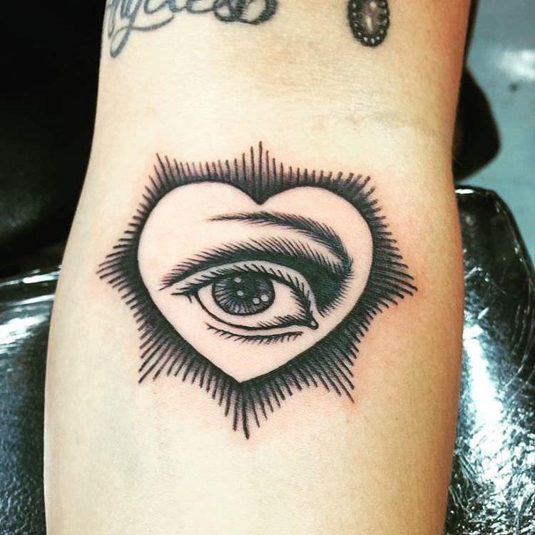 Now Eye Tattoo Design