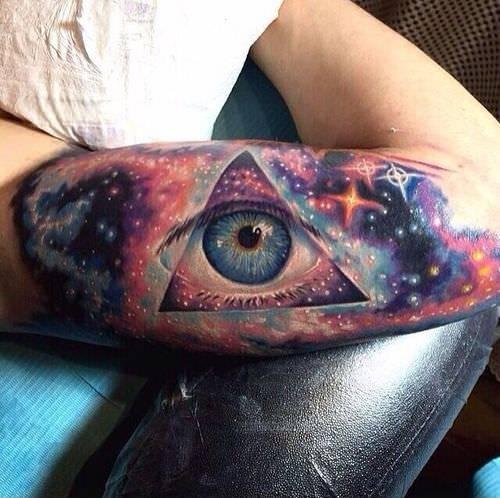 All Seeing Eye Tattoo Design