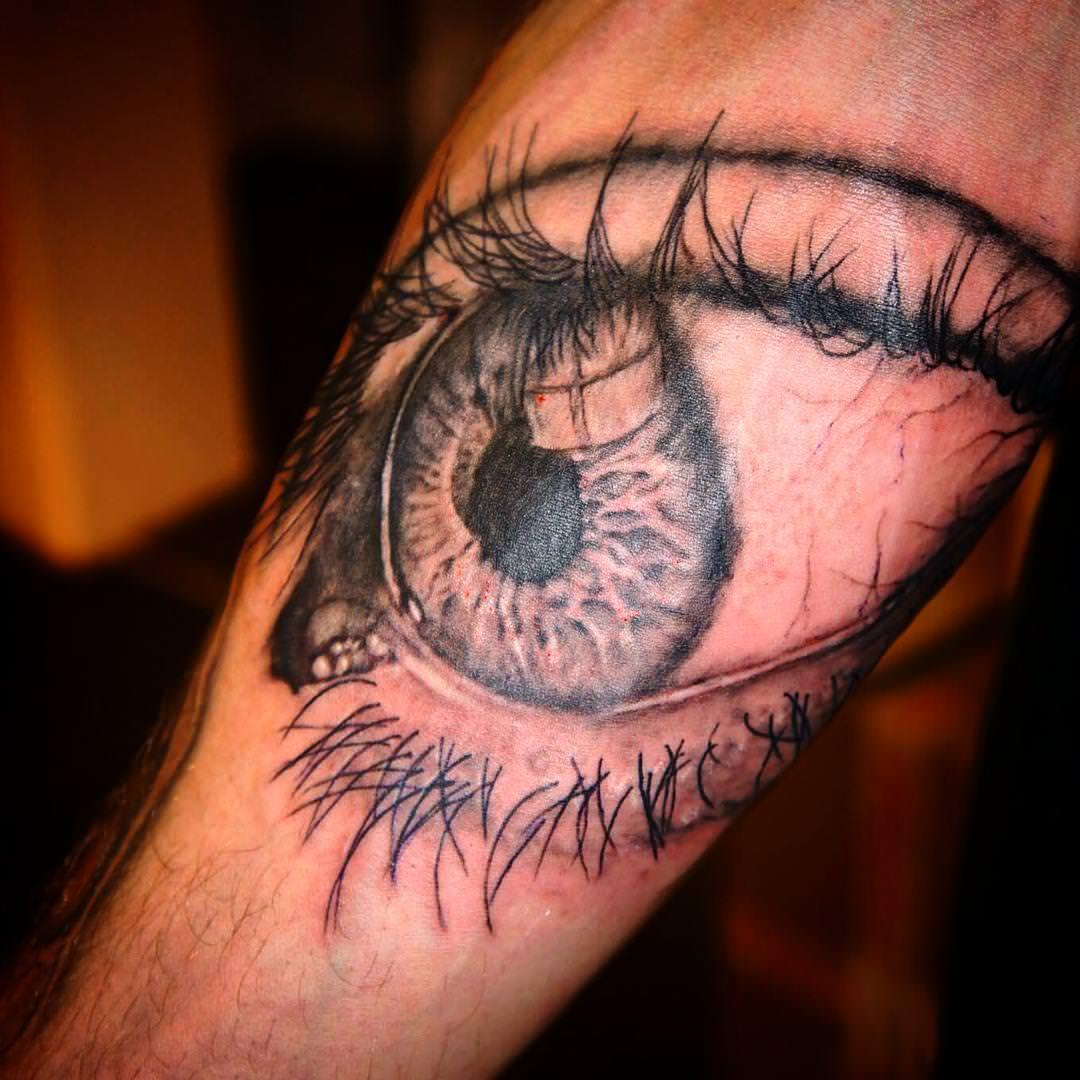 Dog Eye Tattoo Design