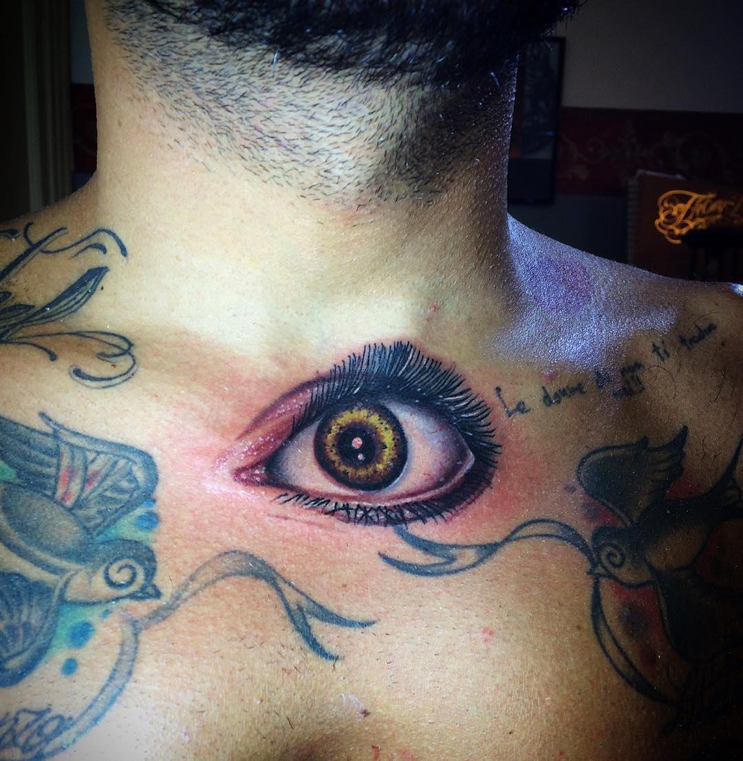 Art Eye Tattoo Design