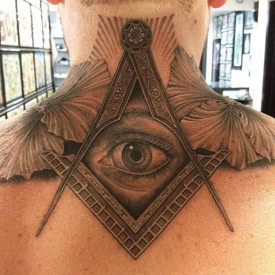 Cache Eye Tattoo Design