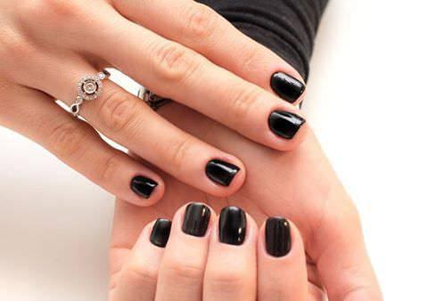 34 black nail art designs ideas  design trends