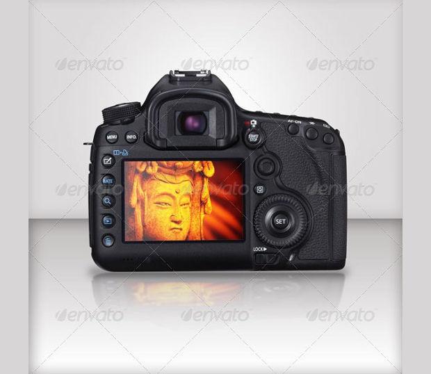 EOS Camera Mockup