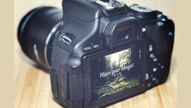 Realistic Camera Mockup
