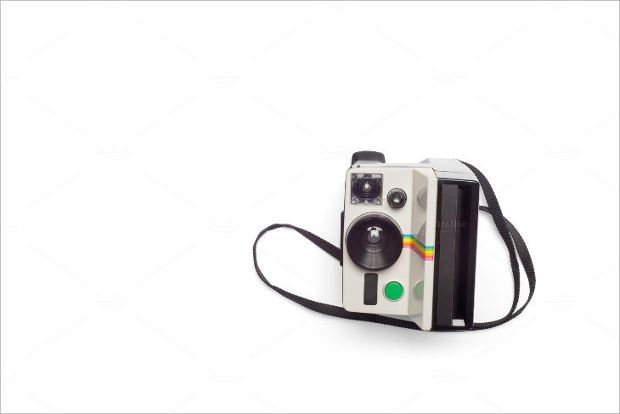 Land Camera Mockup Design