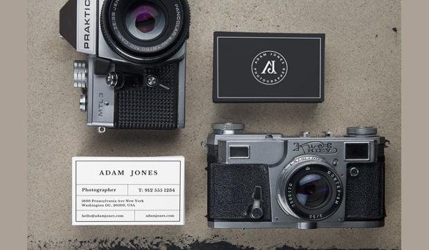 Cool Retro Camera Mockup