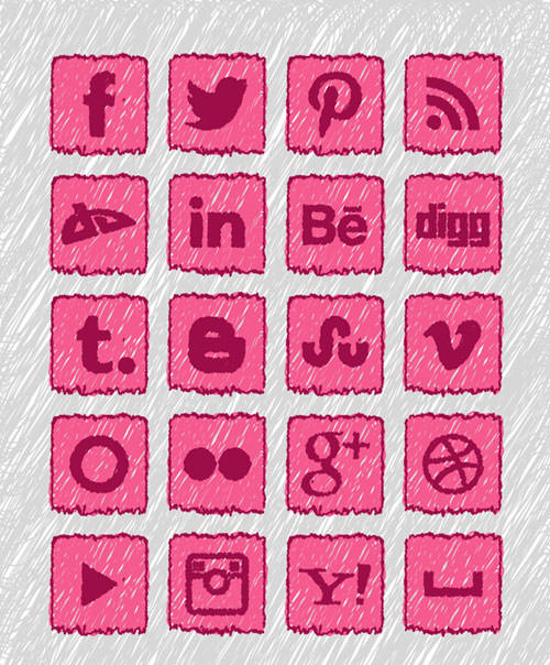 Social Media Buttons,Facebook Buttons,Pinterest Button,Twitter Button